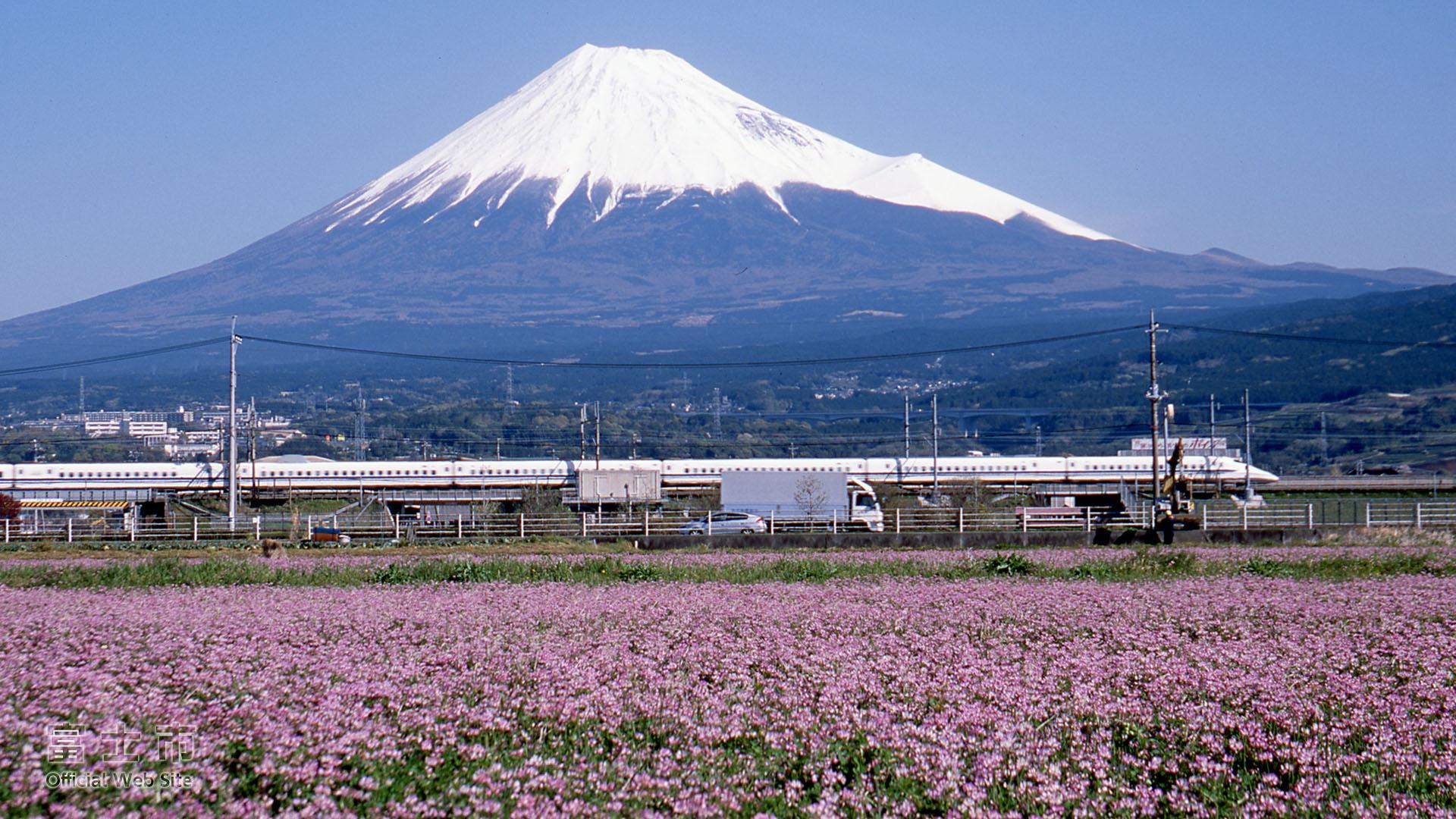 富士山壁紙集 春 富士じかん