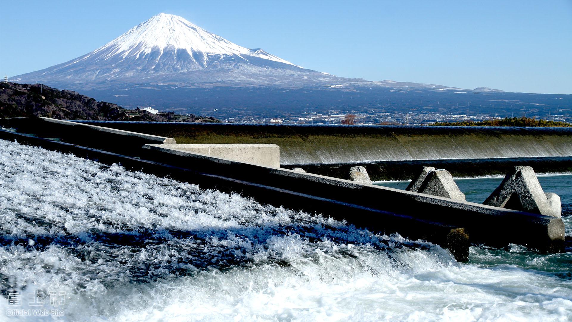 富士山壁紙集 冬 富士じかん