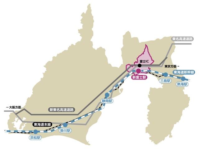 富士市への交通アクセス | 静岡県富士市
